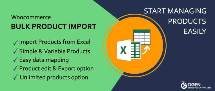 Bulk Product Import Export with Excel for WooCommerce - Manage WooCommerce Faster by Bulk Importing Products