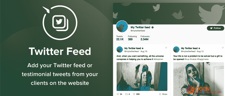 Twitter Feed Wordpress Plugin